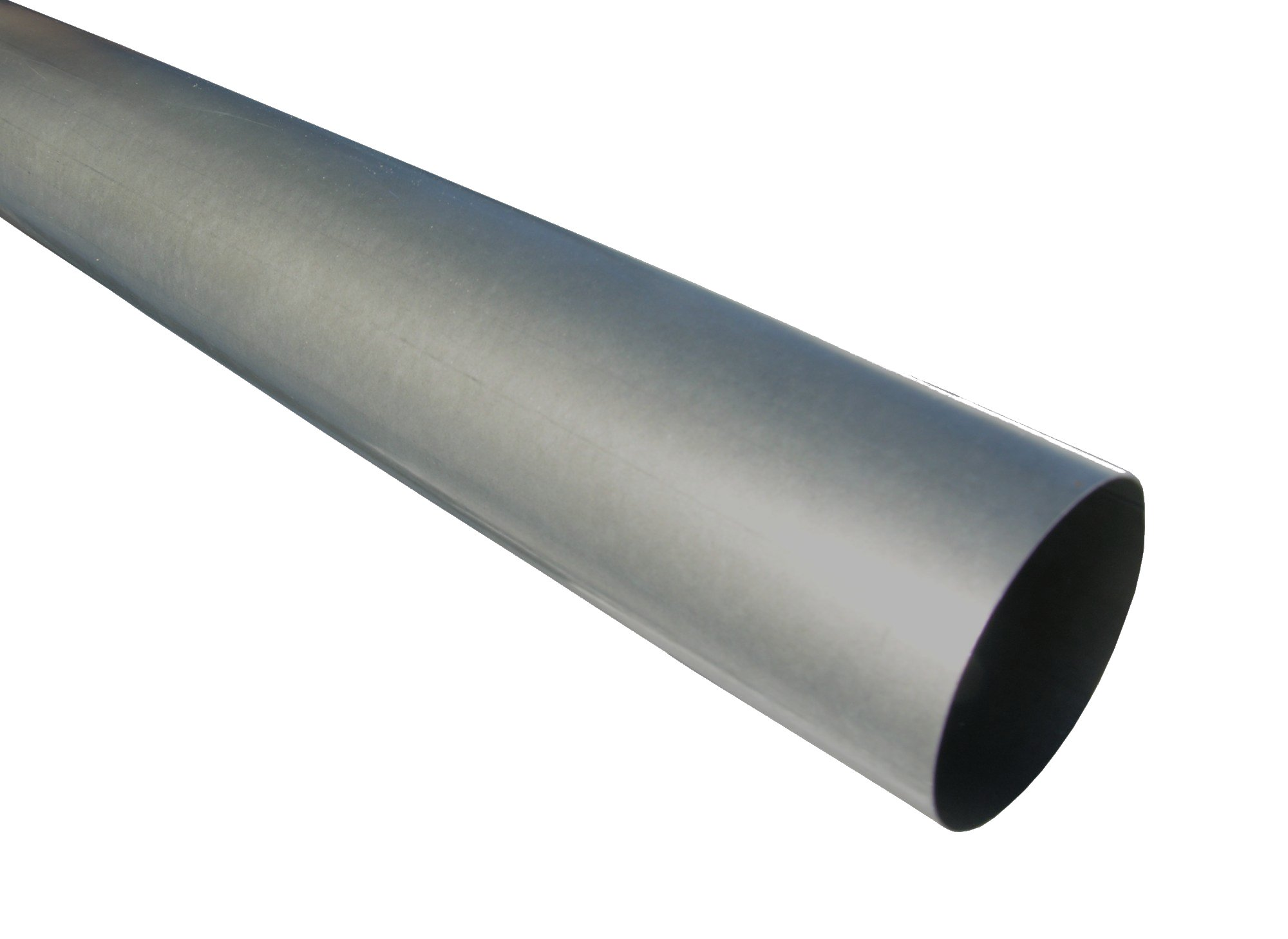Plain Round Paint Grip Steel Downspout Are Available In 3