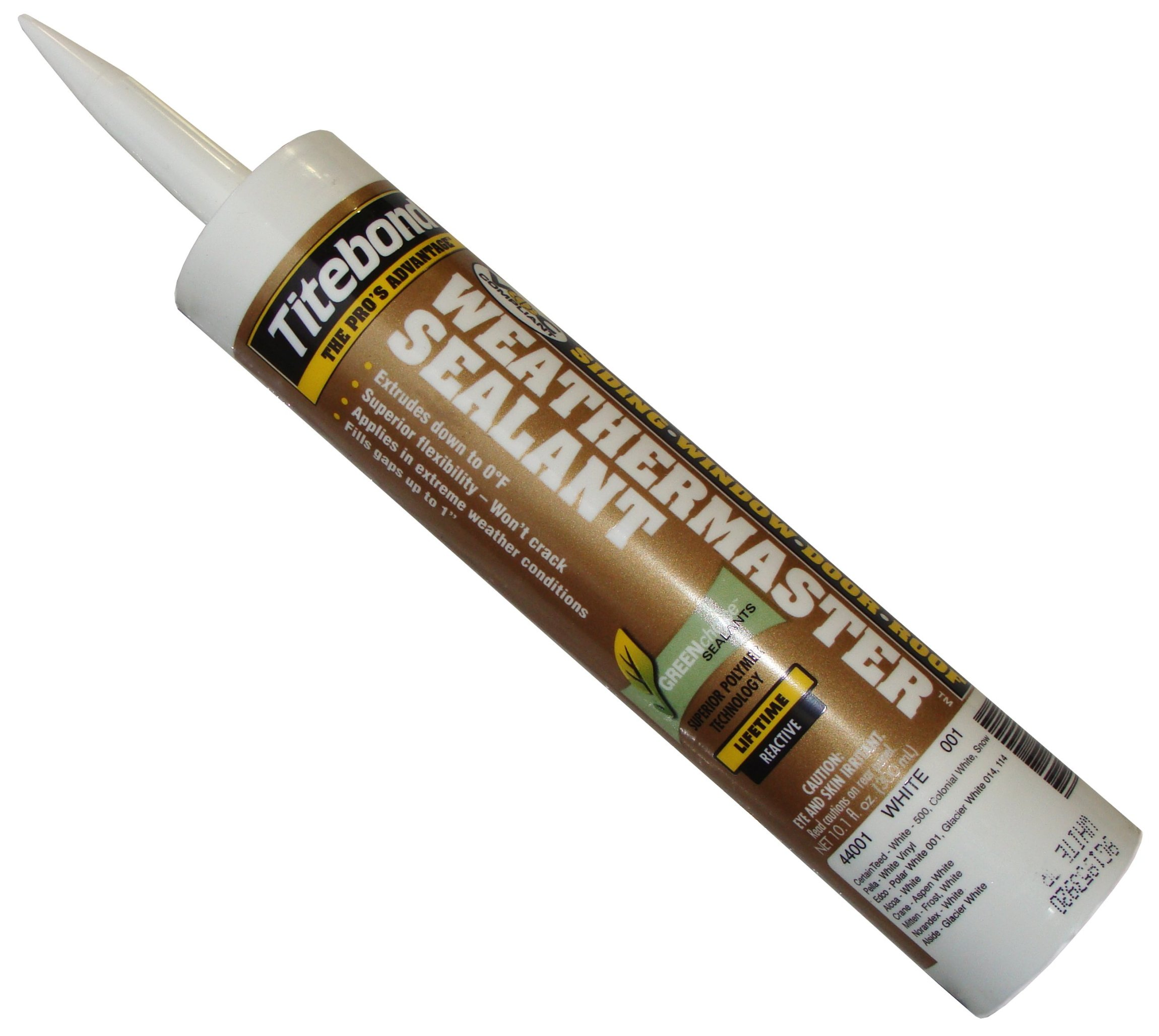 Gutter Sealants Titebond Weathermaster Gutter Sealant