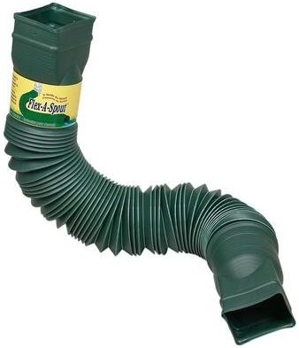 K Style Gutter Round Downspout