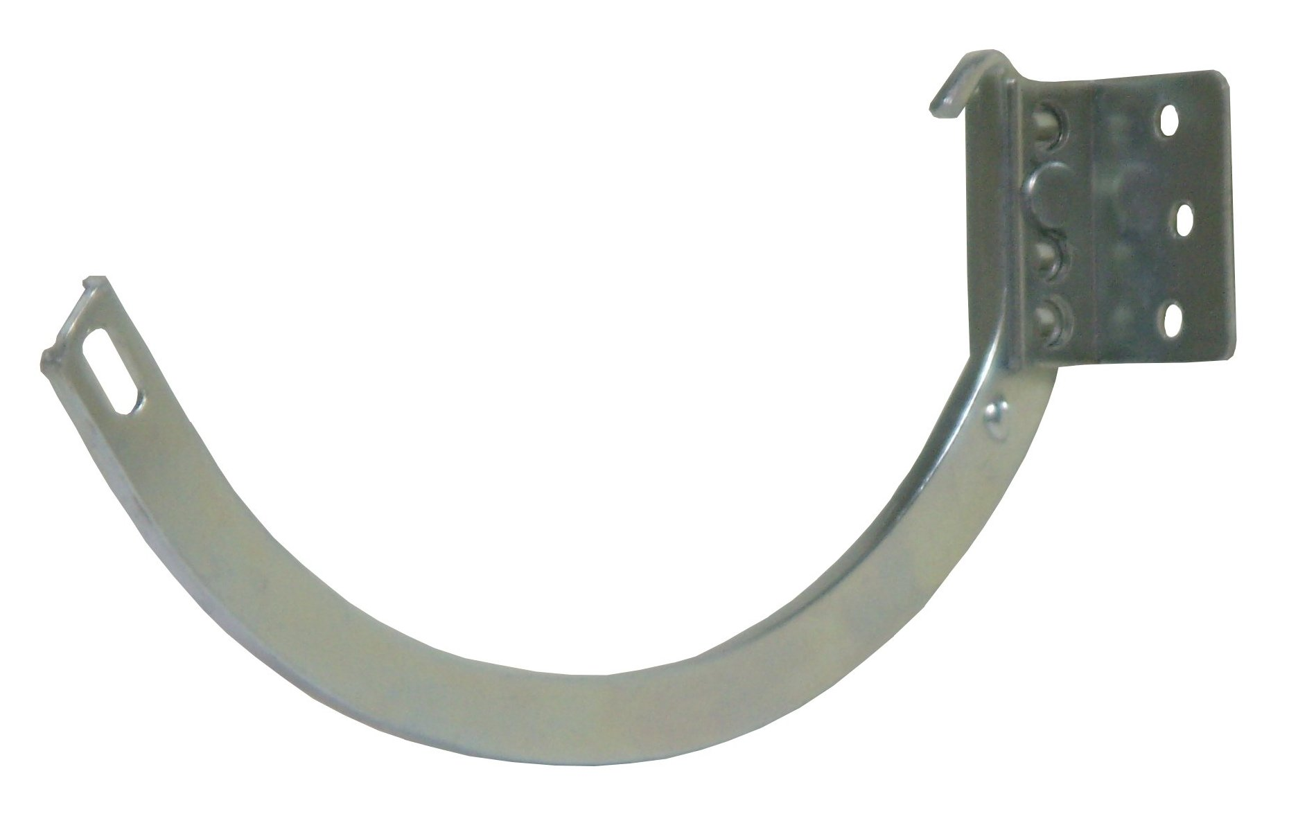 Our Galvalume Half Round Gutter Hangers Are Perfect For