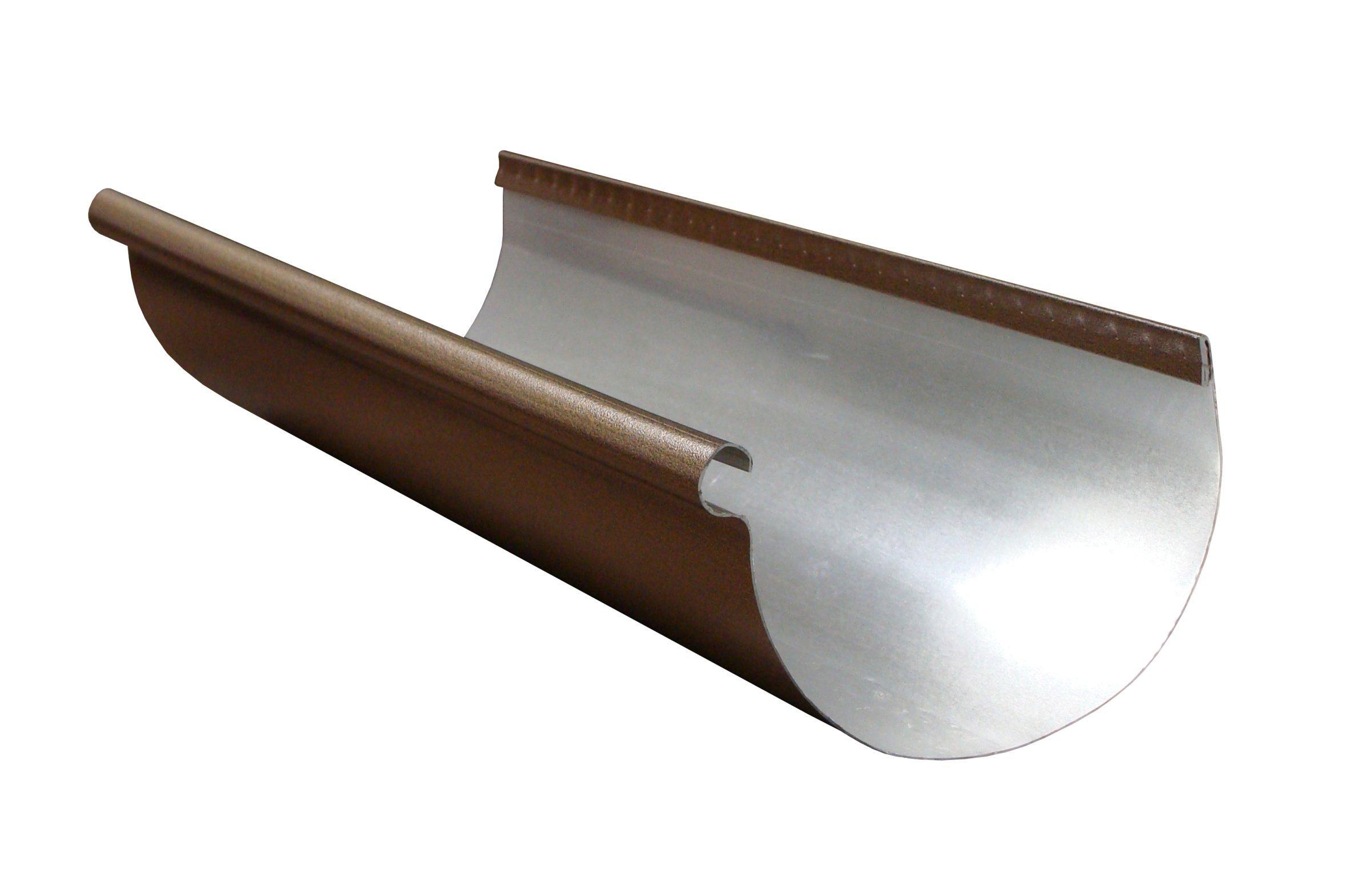 Half Round Designer Copper Aluminum Gutter Half Round