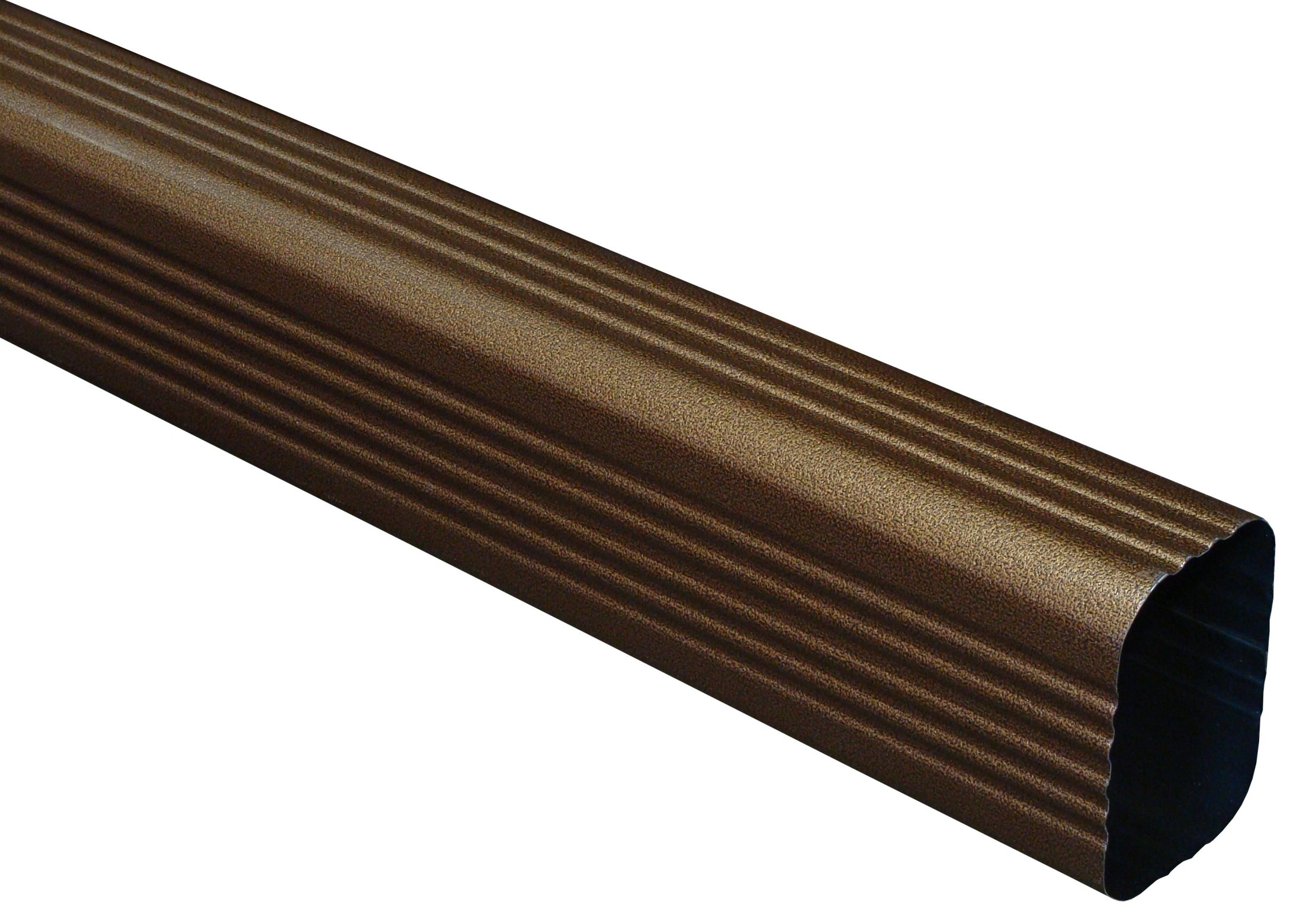Designer Copper Aluminum Downspouts Are Vertical Pipes