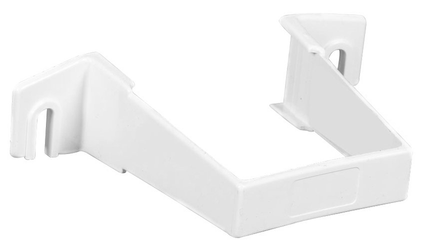 The Contemporary Downspout Pipe Clip Is Attached To The