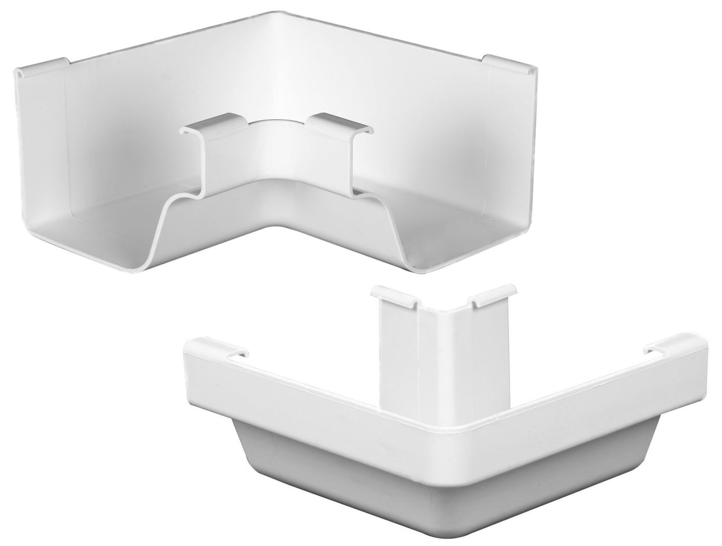 The Traditional Vinyl Box Miters Are The Gutter Fittings