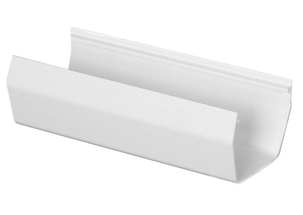 Contemporary Vinyl K Style Gutters U Shaped Design Are