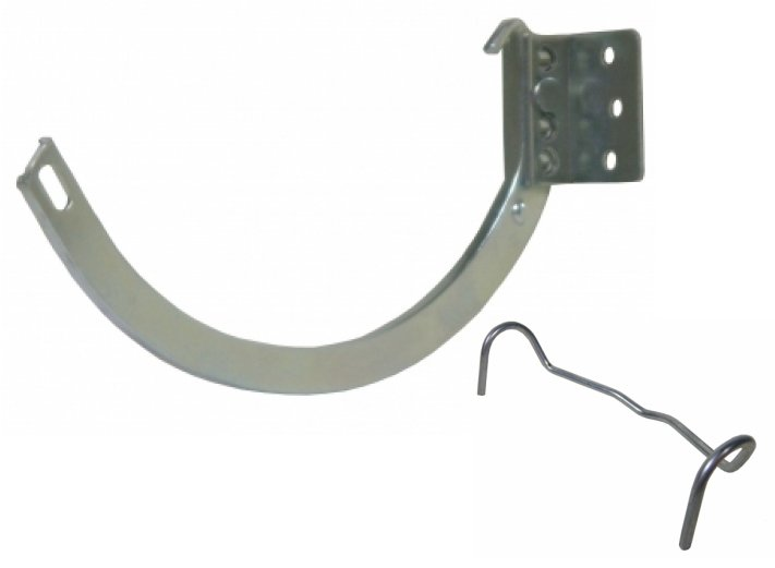 #10 Galvanized Combo Shank and Circle Hanger,Half Round Gutters,Half Round Gutter,Gutter Hangers