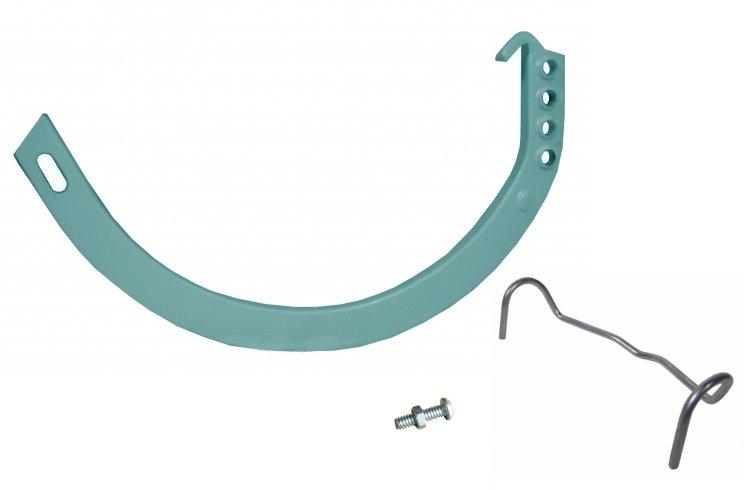 Circle Hanger w/ Spring Clip, Nut and Bolt | Gutter Hangers