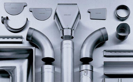 Preweathered Zinc Gutter System
