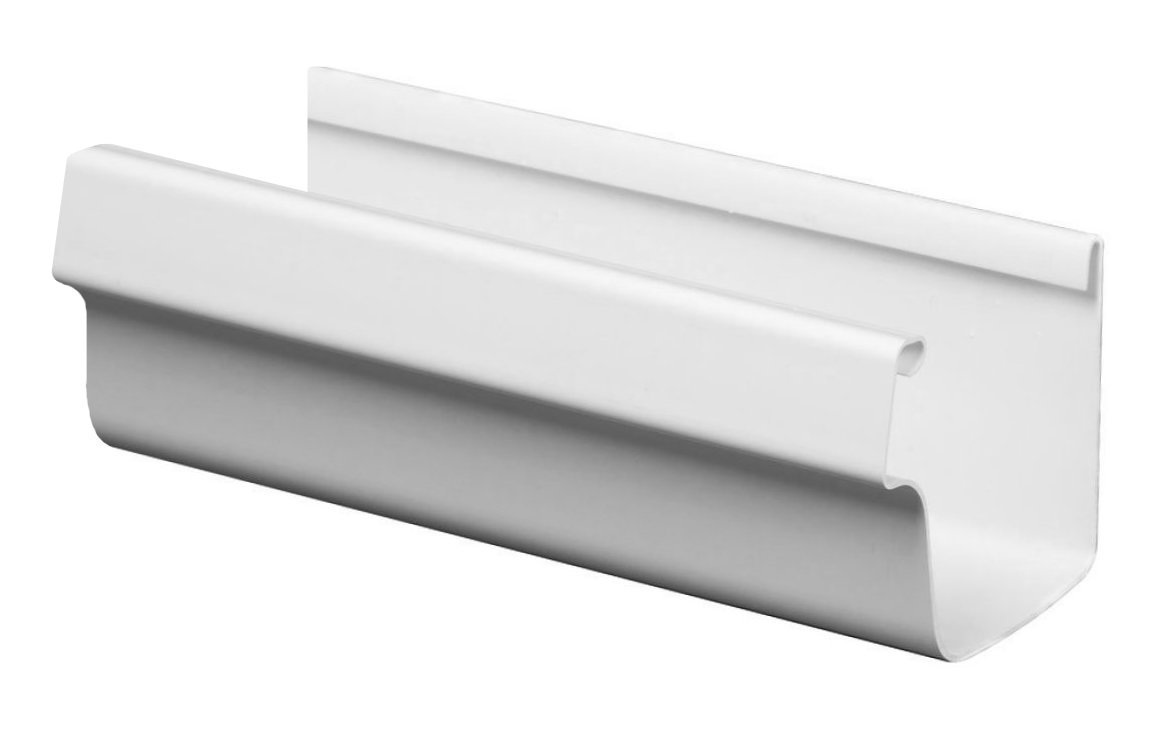 The Traditional Vinyl Gutter System Is Durable Scratch