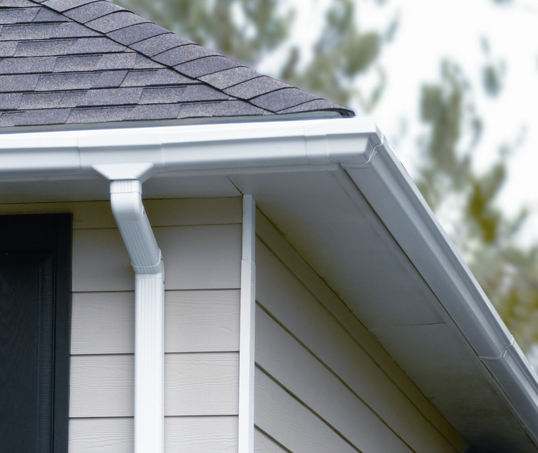 Traditional Vinyl Gutter System - Gutter Supply