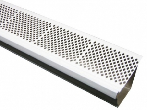 The Diamond Pvc Snap In Gutter Cover Is An Economical Yet