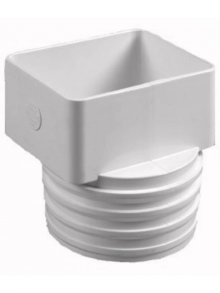 X flex downspout tile adapter gutter supply