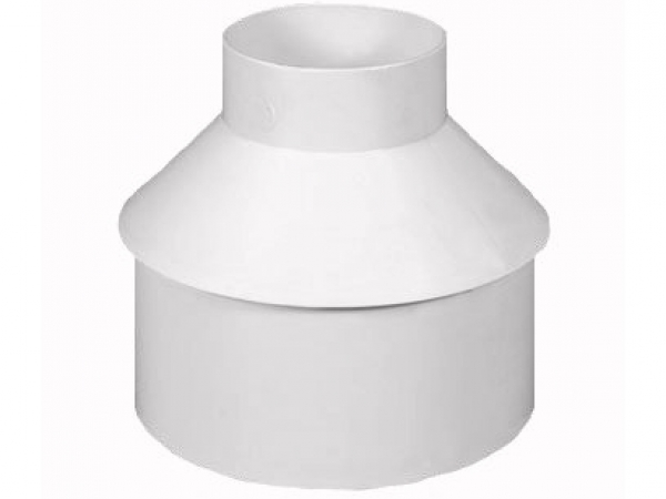 To Connect A 4 Quot Round Downspout Into 8 Quot Pvc Pipe