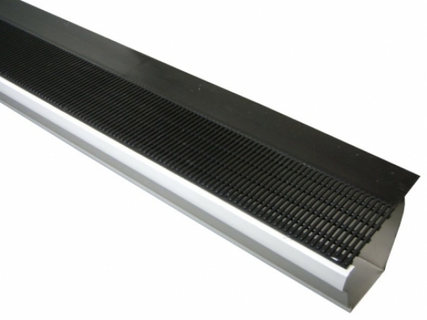The Raindrop Gutter Guard Is An Effective Combination Of