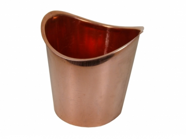 Half Round Copper B Style Outlet