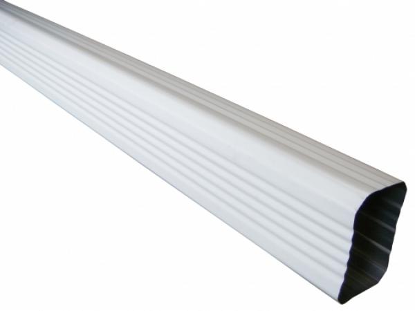 Rectangular Aluminum Downspout