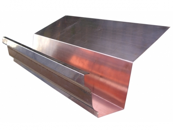 The Amerimax Home Products 10 ft. Aluminum Gutter The Amerimax Home Products 10 ft. Aluminum Gutter features a baked-on musket brown finish to complement your home and durable aluminum construction for long life. Use this gutter to control runoff and help prevent foundation erosion.