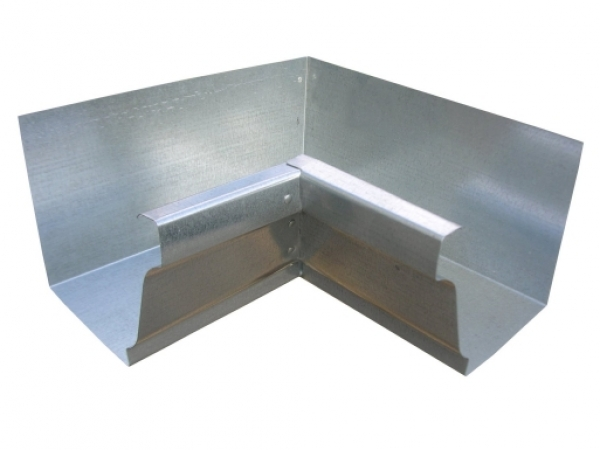 Galvanized K Style Inside Box Miter