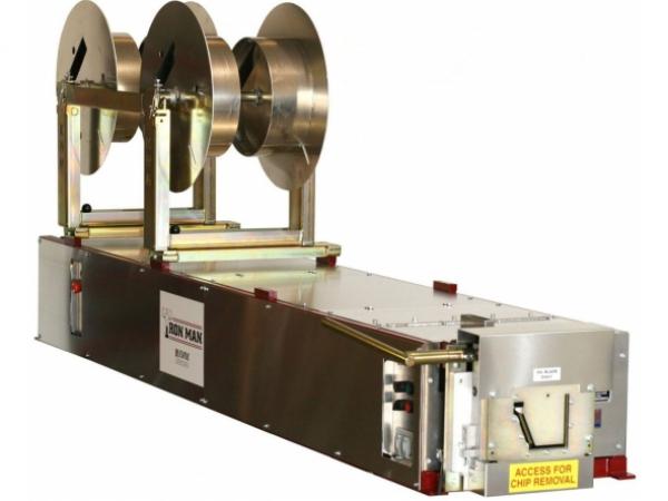 Click For A Larger View 6 K Ironman Gutter Machine