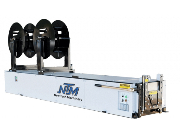 Click For A Larger View Newtech 6 K Mach Ii Gutter Machine