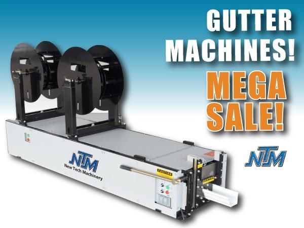 Mach II 5 Gutter Machine