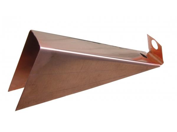 K Style Gutter Wedge - Copper - Gutter Wedges