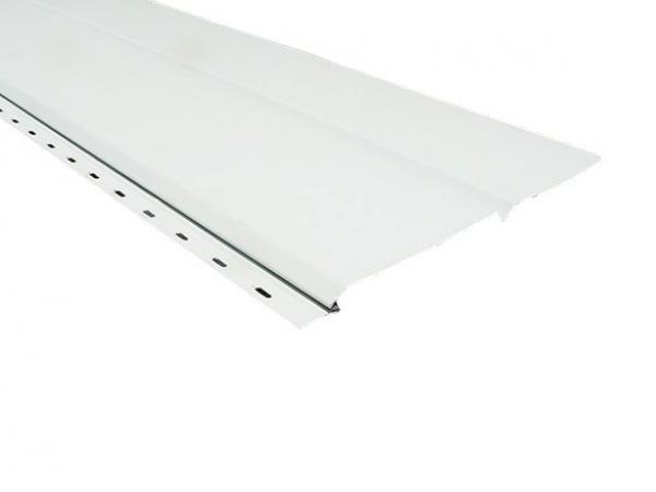 Solid Aluminum Soffit - Double 6