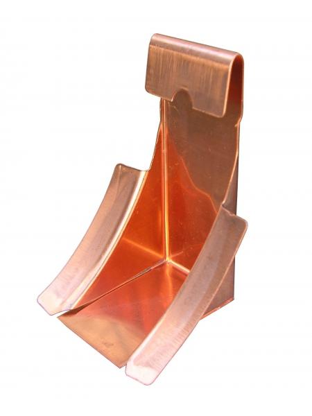 6in Half Round Gutter Wedge - Copper