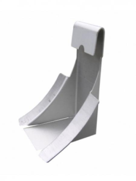 6in Half Round Gutter Wedge - Aluminum