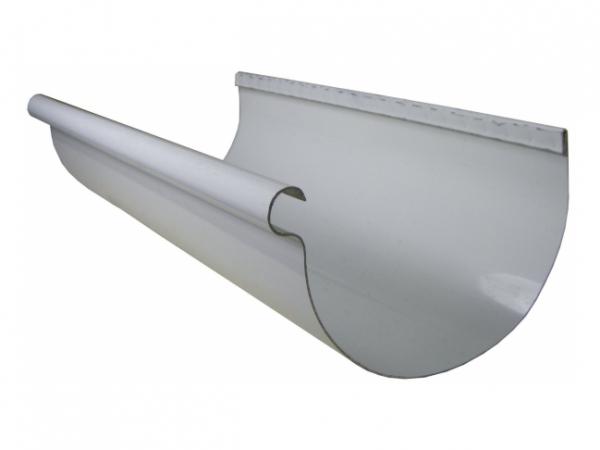 Half Round Rain Gutters - Aluminum - Rain Gutter - Rain Gutter Supplies