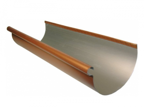 Click For A Larger View Half Round Rain Gutters Copper