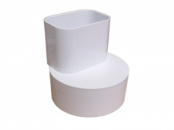 2x3x4 Offset Downspout Adapter