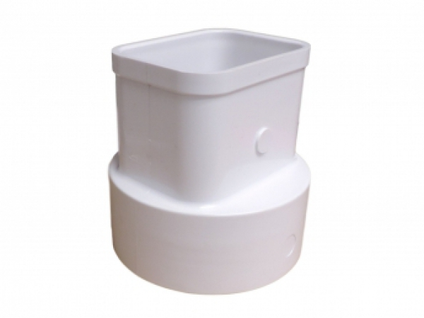 2x3x4 Flush Downspout Adapter