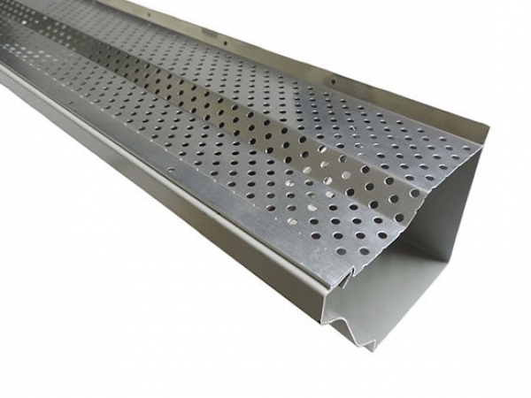 Gutter Guard Step Up - Mill Finish Aluminum