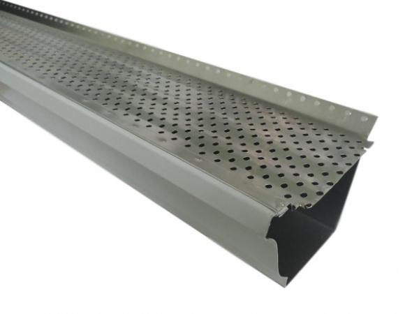 Gutter Guard - Mill Finish Aluminum, Gutter Screens, Gutter Cover