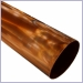 Copper Downspouts,Downspouts,Plain Round Downspout
