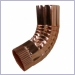 Round Corrugated Copper Elbows for Copper Gutters