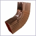 Rectangular B Elbows for Copper Gutters