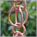 Link Style Rain Chains,Copper Rain Chain