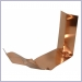 copper k style miters,miters,miter,outside bay strip miter