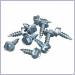 galvalume fasteners,mill finish zip screws,zip screws
