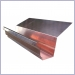 Copper Highback Gutter,Copper Highback Gutters,Rain Gutter Supplies,Rain Gutter