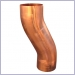 Euro Copper Smooth Round Swan Neck