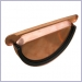 Euro Copper Universal End Cap with Rubber Seal