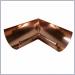 copper half round miters,miter,miters