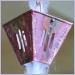 XL Slotted Square Cups Rain Chain,rainchains,rain chain,rainchain,rain chains,Copper Rain Chain