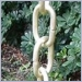 Large Link Traditional Rain Chain - Brass,rain chains,rainchains