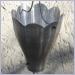 Aluminum XL Scallop Cups Rain Chain,Rain Chain,Rain Chains,Rainchains,Rainchain