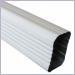 Aluminum Downspouts,plain round downspouts,rectangular downspouts