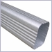 Rectangular Downspout,Downspouts,Galvalume Downspouts,Rectangular Downspout